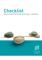 Cover Checklist sekseneutraliteit bij functiewaardering en -classificatie