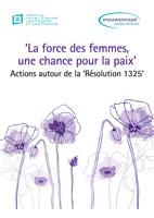 Couverture La force des femmes, une chance pour la paix
