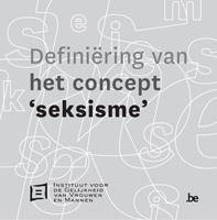 Cover Definiëring van het concept seksisme