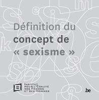 Couverture Définition du concept de sexisme