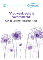 Cover Vrouwenkracht is vredesmacht