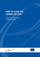 Cover How to close the gender pay gap