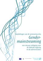 Cover Handelingen van de seminariecyclus gender mainstreaming