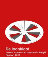 Cover De loonkloof tussen vrouwen en mannen in België - Rapport 2012