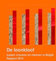 Cover De loonkloof tussen vrouwen en mannen in België - Rapport 2014