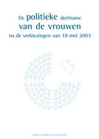 Cover De politieke deelname van de vrouwen na de verkiezingen van 18 mei 2003